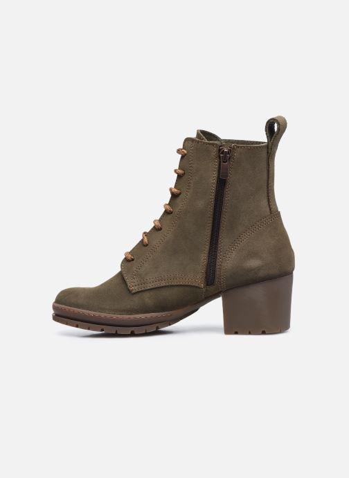 Bottines et boots Art CAMDEN 1242 Vert vue face