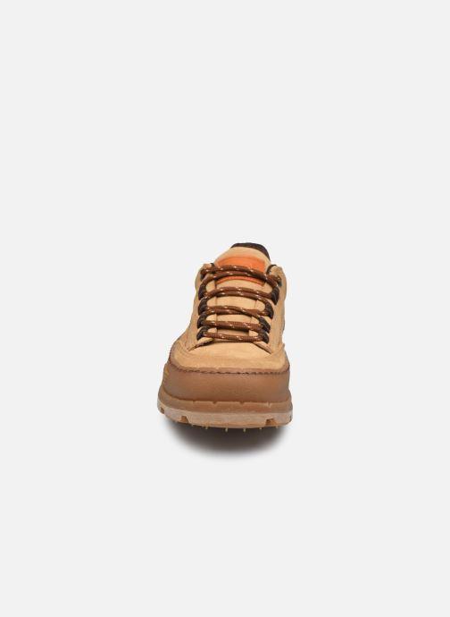 Baskets Art BLUE PLANET 1771 Marron vue portées chaussures