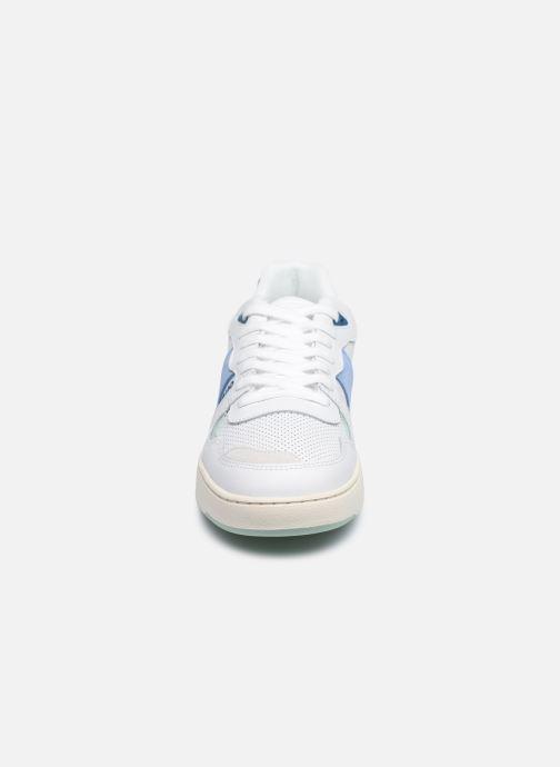 Faguo Baskets Ceiba Leather Suede W - Blanc (white 16)