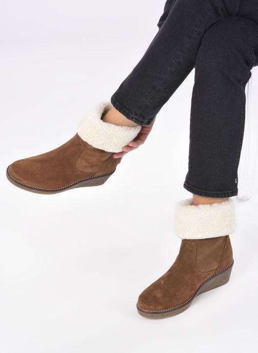 Stiefeletten & Boots Georgia Rose Soft Armelle braun ansicht von unten / tasche getragen