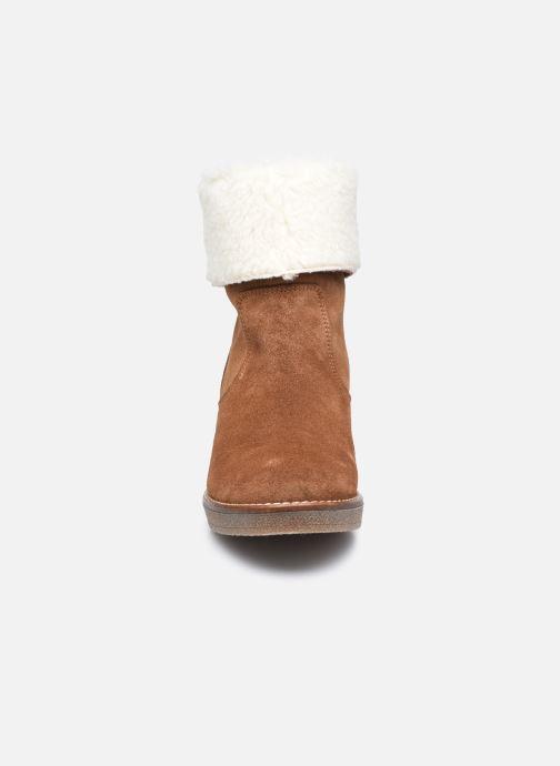 Stiefeletten & Boots Georgia Rose Soft Armelle braun schuhe getragen