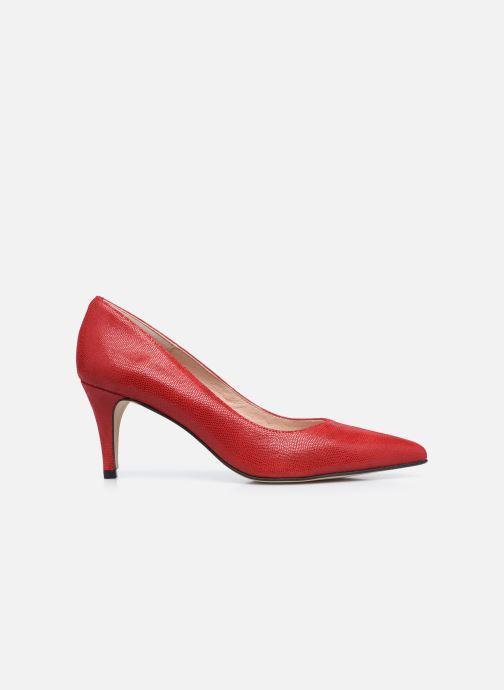 Zapatos de tacón Georgia Rose Anguilla Rojo vistra trasera