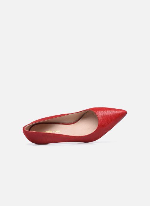 Zapatos de tacón Georgia Rose Anguilla Rojo vista lateral izquierda