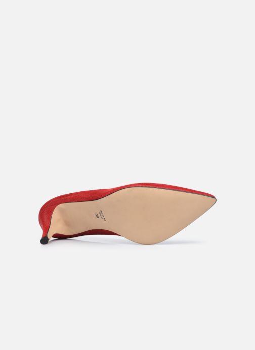 Zapatos de tacón Georgia Rose Anguilla Rojo vista de arriba