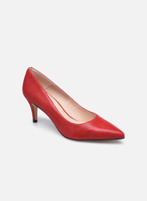 Zapatos de tacón Georgia Rose Anguilla Rojo vista de detalle / par