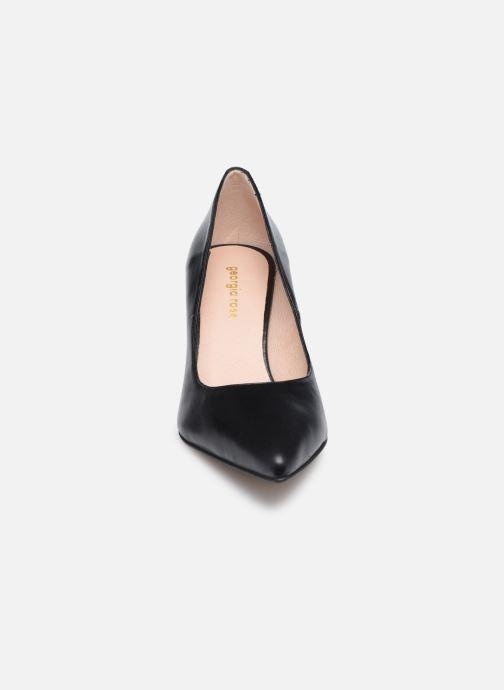 Zapatos de tacón Georgia Rose Anguilla Negro vista del modelo