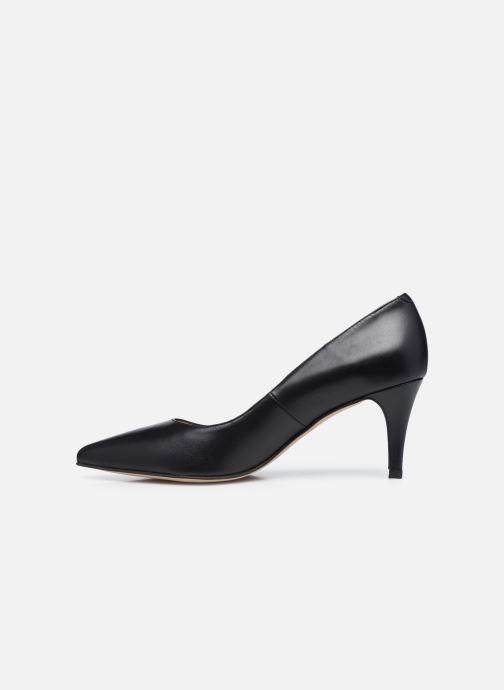 Zapatos de tacón Georgia Rose Anguilla Negro vista de frente