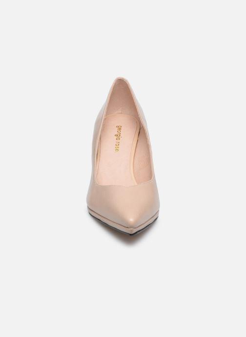 Escarpins Georgia Rose Austine Beige vue portées chaussures