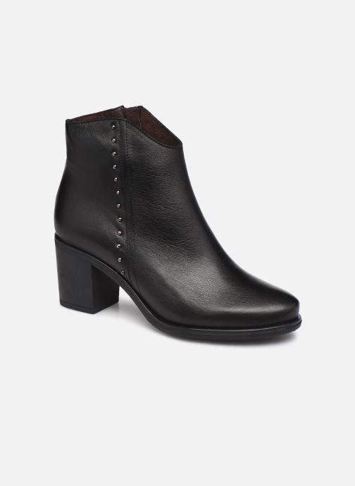 Bottines et boots Georgia Rose Soft Izao Noir vue détail/paire