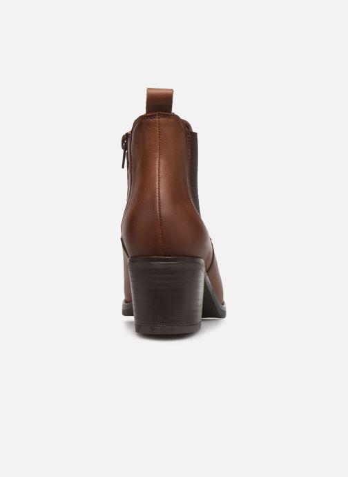 Bottines et boots Georgia Rose Soft Ivana Marron vue droite