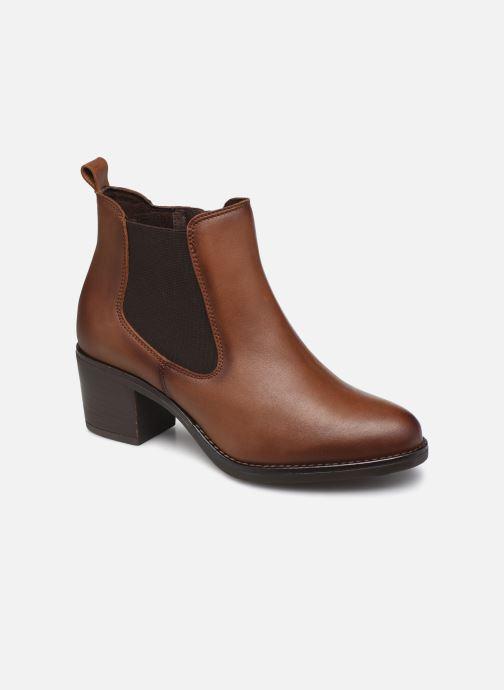 Bottines et boots Georgia Rose Soft Ivana Marron vue détail/paire