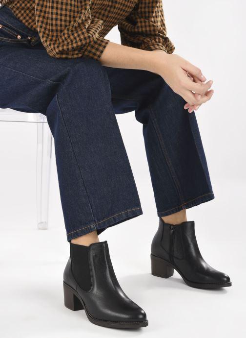 Stiefeletten & Boots Georgia Rose Soft Ivana schwarz ansicht von unten / tasche getragen