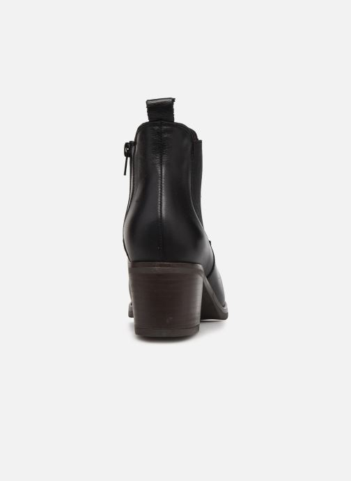Bottines et boots Georgia Rose Soft Ivana Noir vue droite