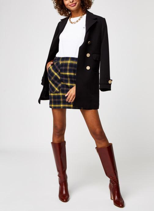 Vêtements Tommy Jeans TJW Check Flannel Skirt Noir vue bas / vue portée sac