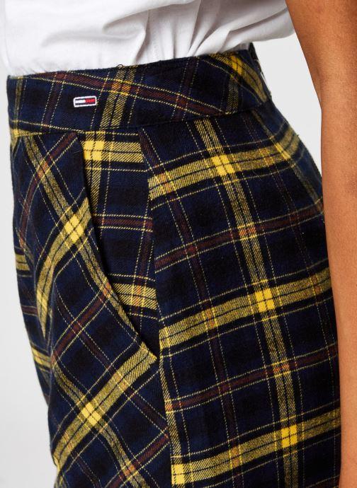 Vêtements Tommy Jeans TJW Check Flannel Skirt Noir vue face