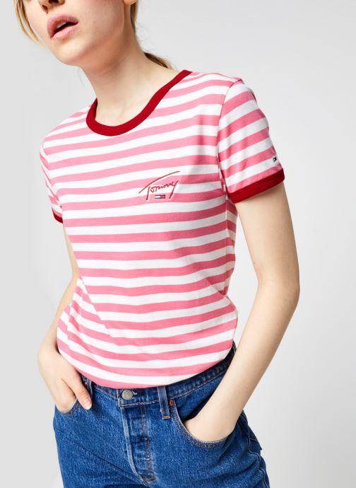 Vêtements Accessoires TJW Logo Stripe Ringer Tee