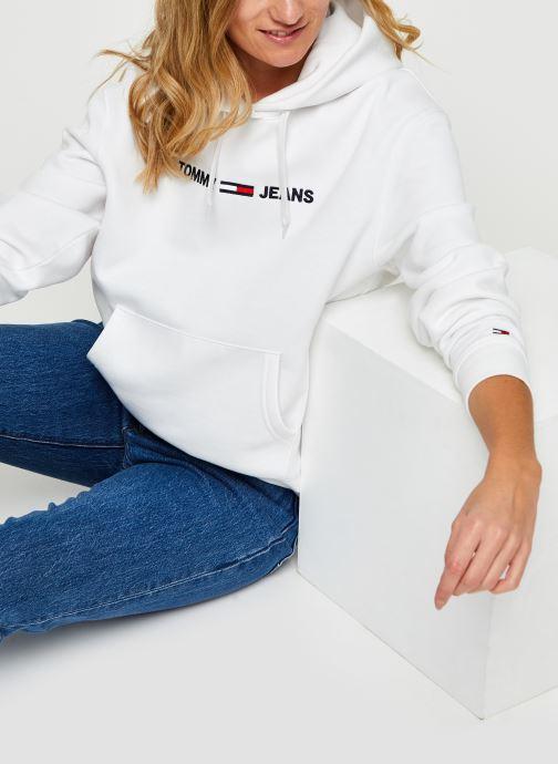 Sweatshirt - TJW Linear Logo Hoodie