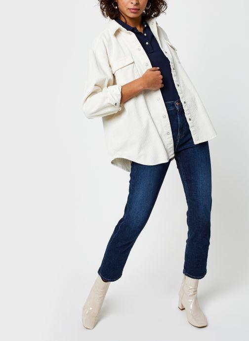 Vêtements Tommy Jeans Izzy Hr Slim Ankle Bleu vue bas / vue portée sac