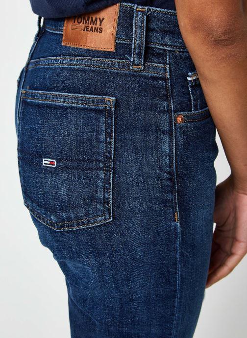 Vêtements Tommy Jeans Izzy Hr Slim Ankle Bleu vue face