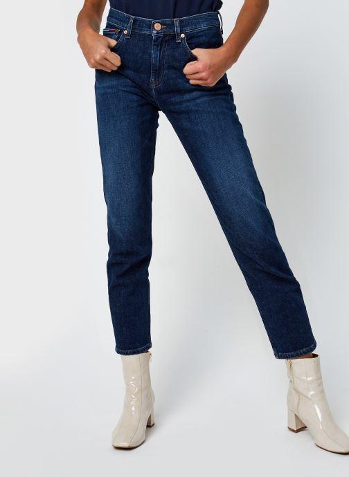 Vêtements Tommy Jeans Izzy Hr Slim Ankle Bleu vue détail/paire