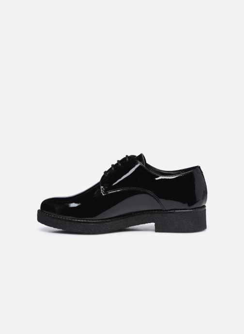 Zapatos con cordones Georgia Rose Azylis Negro vista de frente