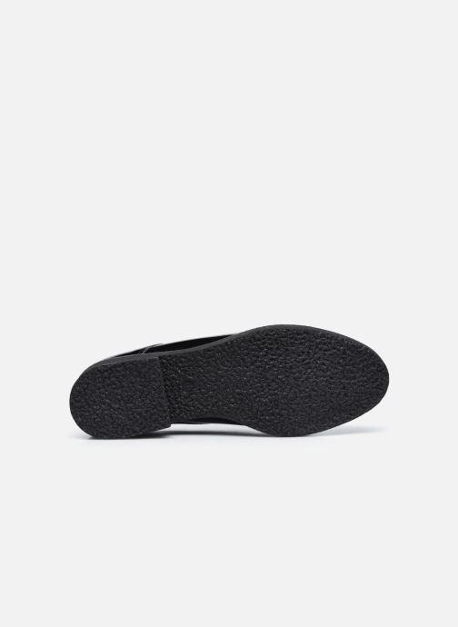 Zapatos con cordones Georgia Rose Azylis Negro vista de arriba