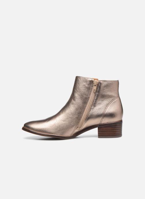 Bottines et boots Georgia Rose Soft Wandy Or et bronze vue face