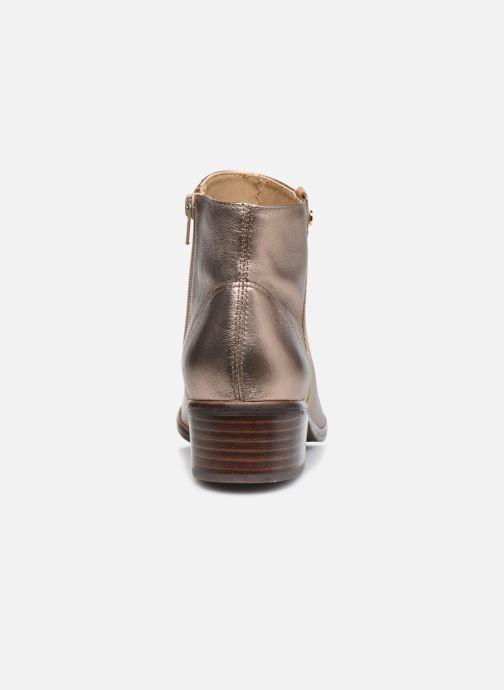 Bottines et boots Georgia Rose Soft Wandy Or et bronze vue droite