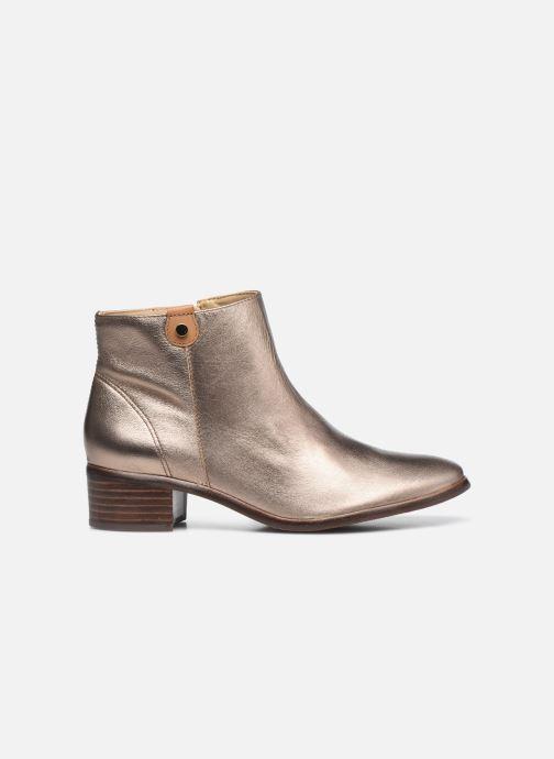 Bottines et boots Georgia Rose Soft Wandy Or et bronze vue derrière