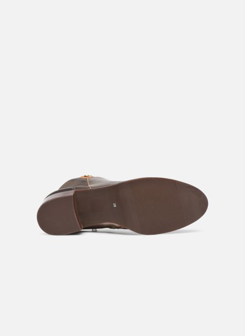 Bottines et boots Georgia Rose Soft Wandy Or et bronze vue haut