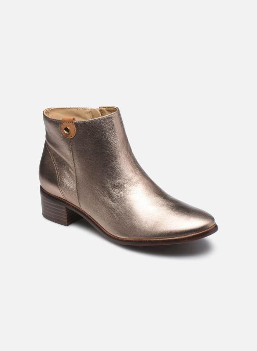 Bottines et boots Georgia Rose Soft Wandy Or et bronze vue détail/paire