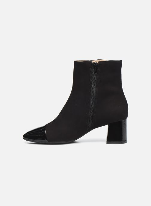 Bottines et boots Georgia Rose Soft Wisquar Noir vue face