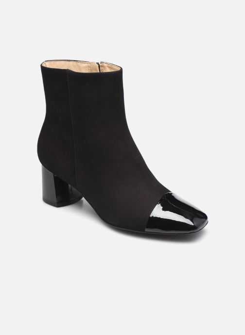 Bottines et boots Georgia Rose Soft Wisquar Noir vue détail/paire