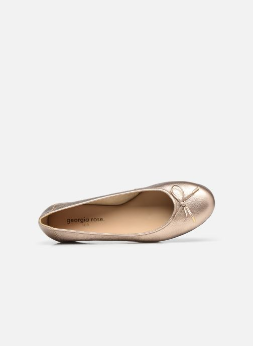 Ballerines Georgia Rose Soft Wolf Or et bronze vue gauche
