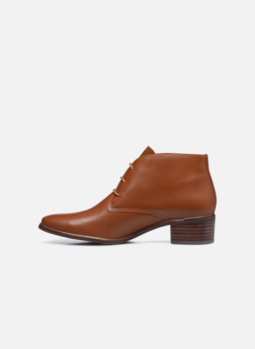 Chaussures à lacets Georgia Rose Soft Walace Marron vue face