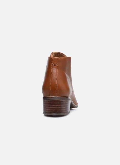 Chaussures à lacets Georgia Rose Soft Walace Marron vue droite