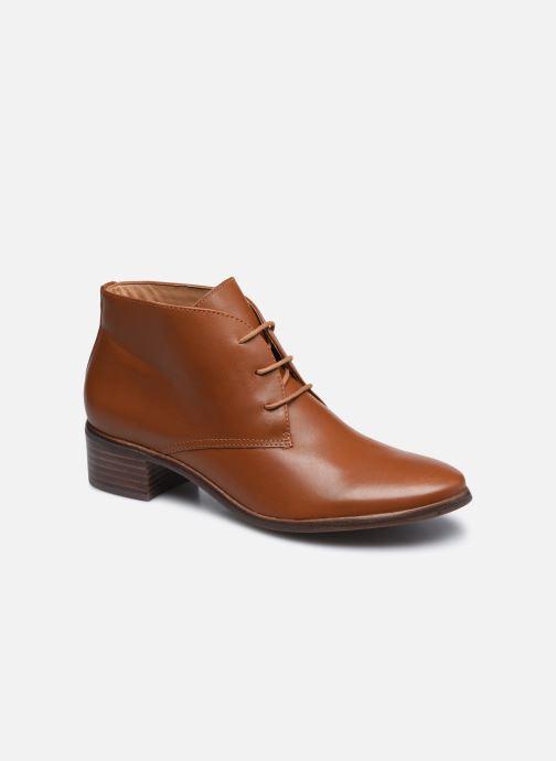 Chaussures à lacets Georgia Rose Soft Walace Marron vue détail/paire