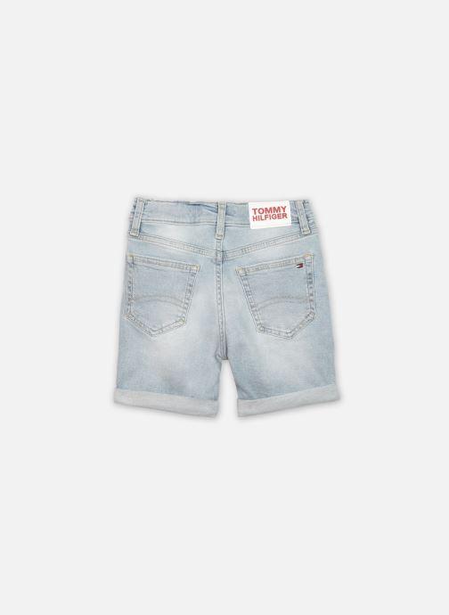 Vêtements Tommy Hilfiger Spencer Shorts - Bldstr Bleu vue portées chaussures