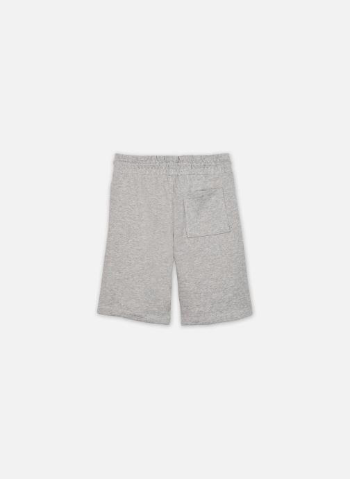 Vêtements Tommy Hilfiger Solid Sweatshorts Gris vue portées chaussures