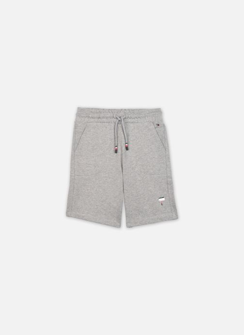 Vêtements Tommy Hilfiger Solid Sweatshorts Gris vue détail/paire