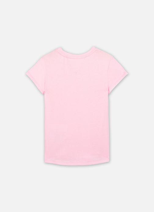 Vêtements Tommy Hilfiger Essential Knit Tee S/S Rose vue face