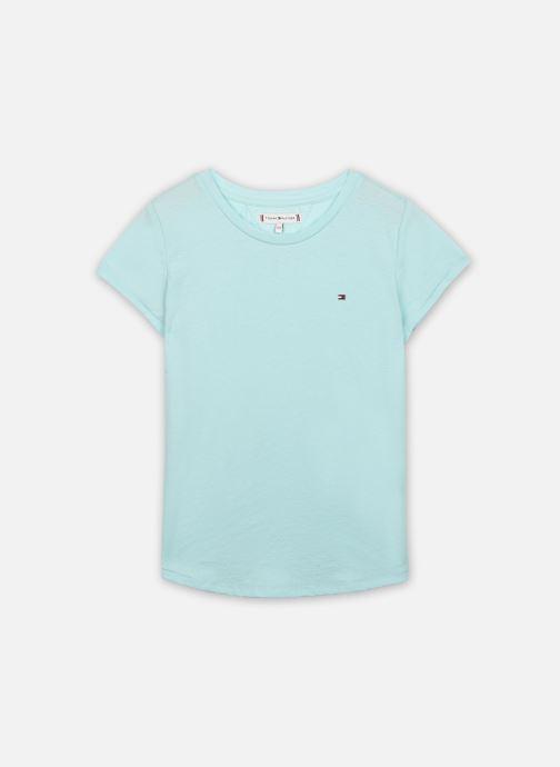 Vêtements Tommy Hilfiger Essential Knit Tee S/S Bleu vue détail/paire