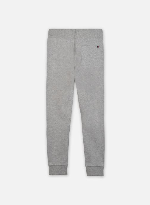 Vêtements Tommy Hilfiger Essential Sweatpants Gris vue portées chaussures