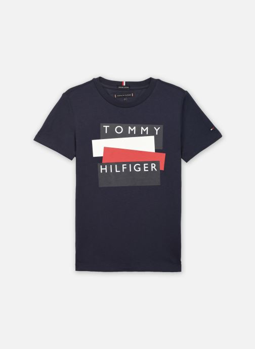 T-shirt - Tommy Hilfiger Sticker Tee S/S