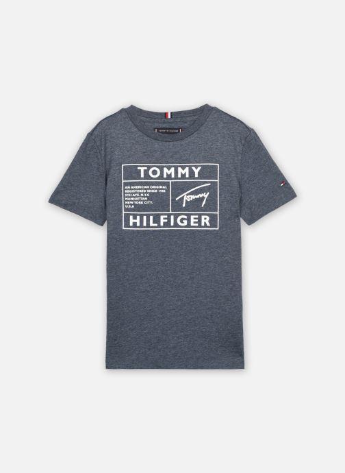 Kleding Accessoires Tommy Reflective Flag Tee S/S