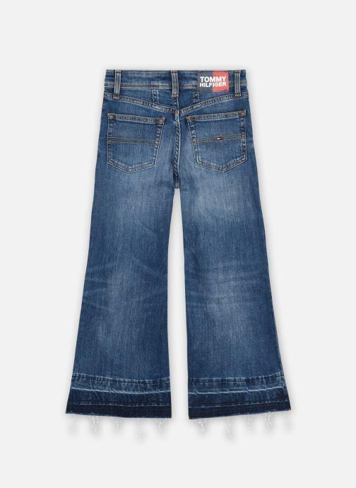 Vêtements Tommy Hilfiger Wide Leg - Auherdks Bleu vue portées chaussures