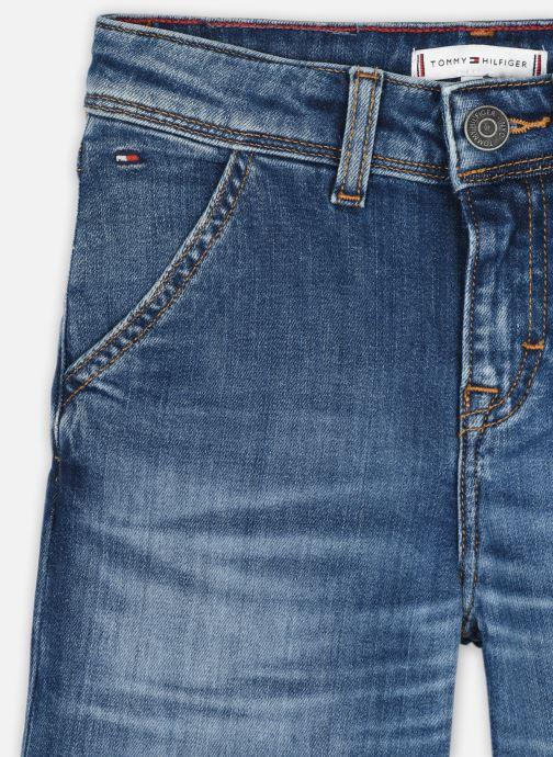 Vêtements Tommy Hilfiger Wide Leg - Auherdks Bleu vue face