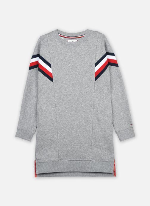 Vêtements Tommy Hilfiger Global Stripe Hwk Dress L/S Gris vue détail/paire