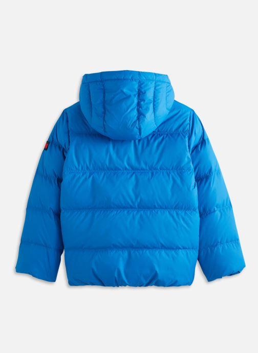 Vêtements Tommy Hilfiger Essential Down Jacket Bleu vue bas / vue portée sac