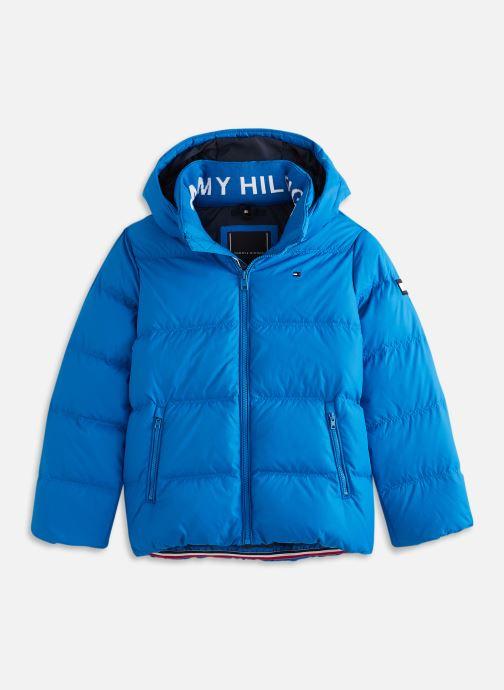 Vêtements Tommy Hilfiger Essential Down Jacket Bleu vue détail/paire